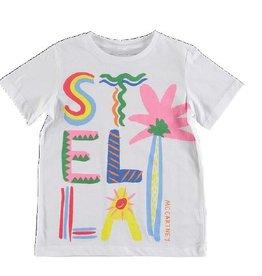 96ea96e38f41 STELLA MCCARTNEY E19 kid girl Stella logo ls tee