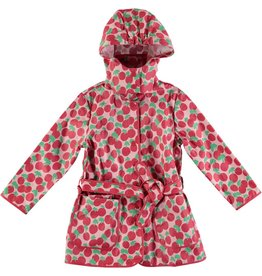 STELLA MCCARTNEY E19 kid girl cherry raincoat