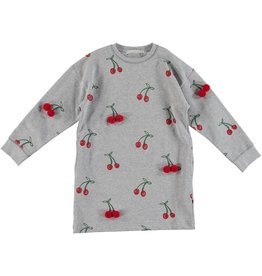 STELLA MCCARTNEY E19 kid girl cherry sweatshirt dress