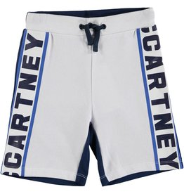 STELLA MCCARTNEY E19 kid boy Stella logo sweatshorts