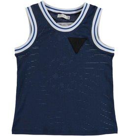 STELLA MCCARTNEY E19 kid boy logo sport tank top