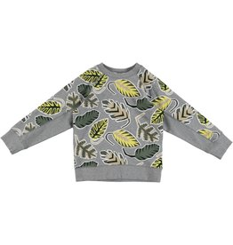 STELLA MCCARTNEY E19 kid boy palm leaf sweatshirt