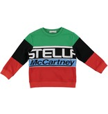 STELLA MCCARTNEY E19 kid boy logo sweatshirt