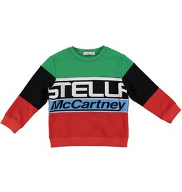 STELLA MCCARTNEY E19 kid boy logo sweatshirt