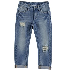 STELLA MCCARTNEY E19 kid boy distressed denim pants