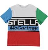 STELLA MCCARTNEY E19 kid boy Stella logo ss tee multic