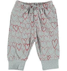 STELLA MCCARTNEY Stella McCartney BABY GIRL ALL OVER HEART PRINT SWEATPANTS