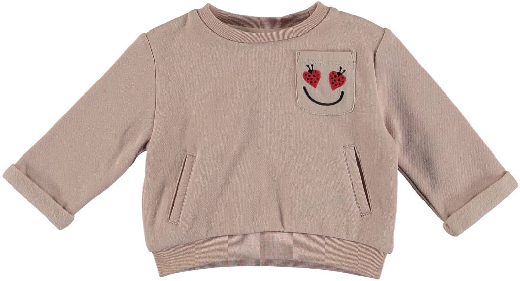 0c440d0b0 Stella McCartney BABY GIRL SWEATSHIRT WITH LADY BUG POCKET - Isola ...