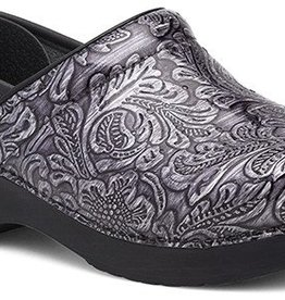 Dansko Dansko Professional Grey Tooled Patent