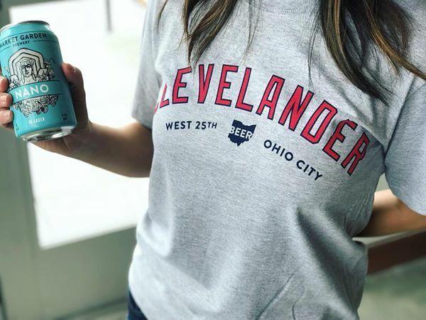 Clevelander T-Shirt Grey