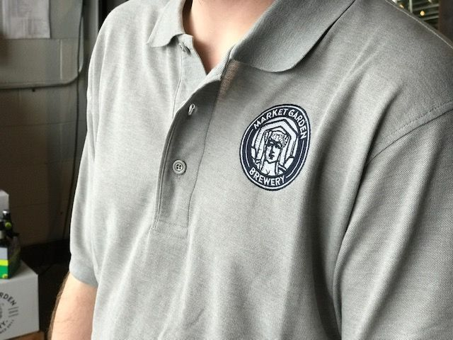 MGB Circle Badge Polo, Grey