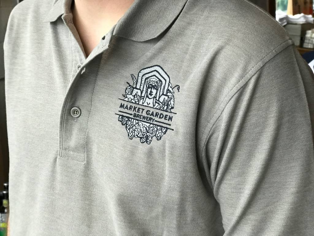 MGB Guardian Logo Polo, Steel S