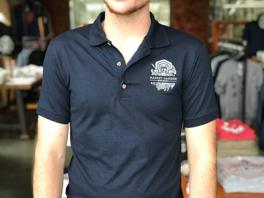 MGB Guardian Logo Polo, Navy