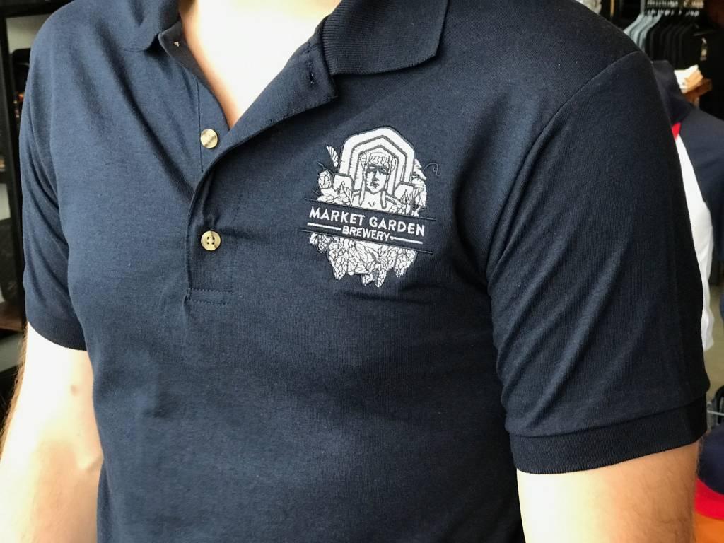 MGB Guardian Logo Polo, Navy