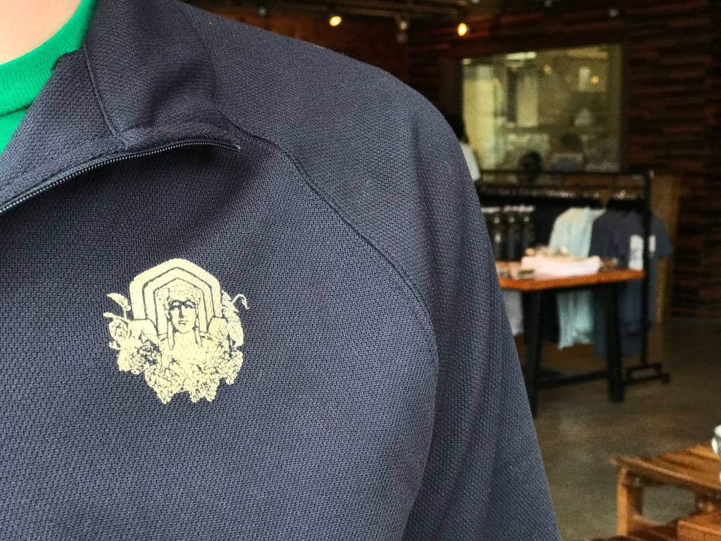MGB Navy Quarter Zip
