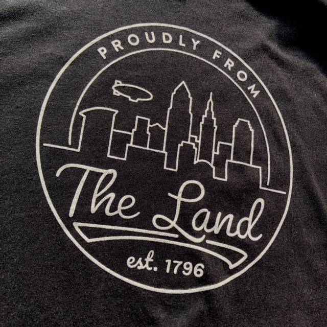 Proudly From The Land T-Shirt, Black