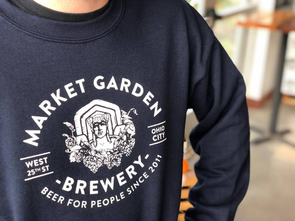Navy Guardian Crewneck Sweatshirt