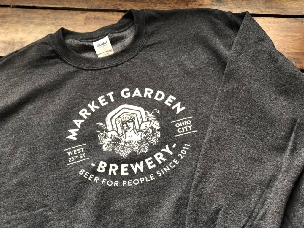 Grey Guardian Crewneck Sweatshirt