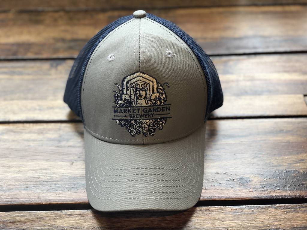 Grey Mesh Back Guardian Hat