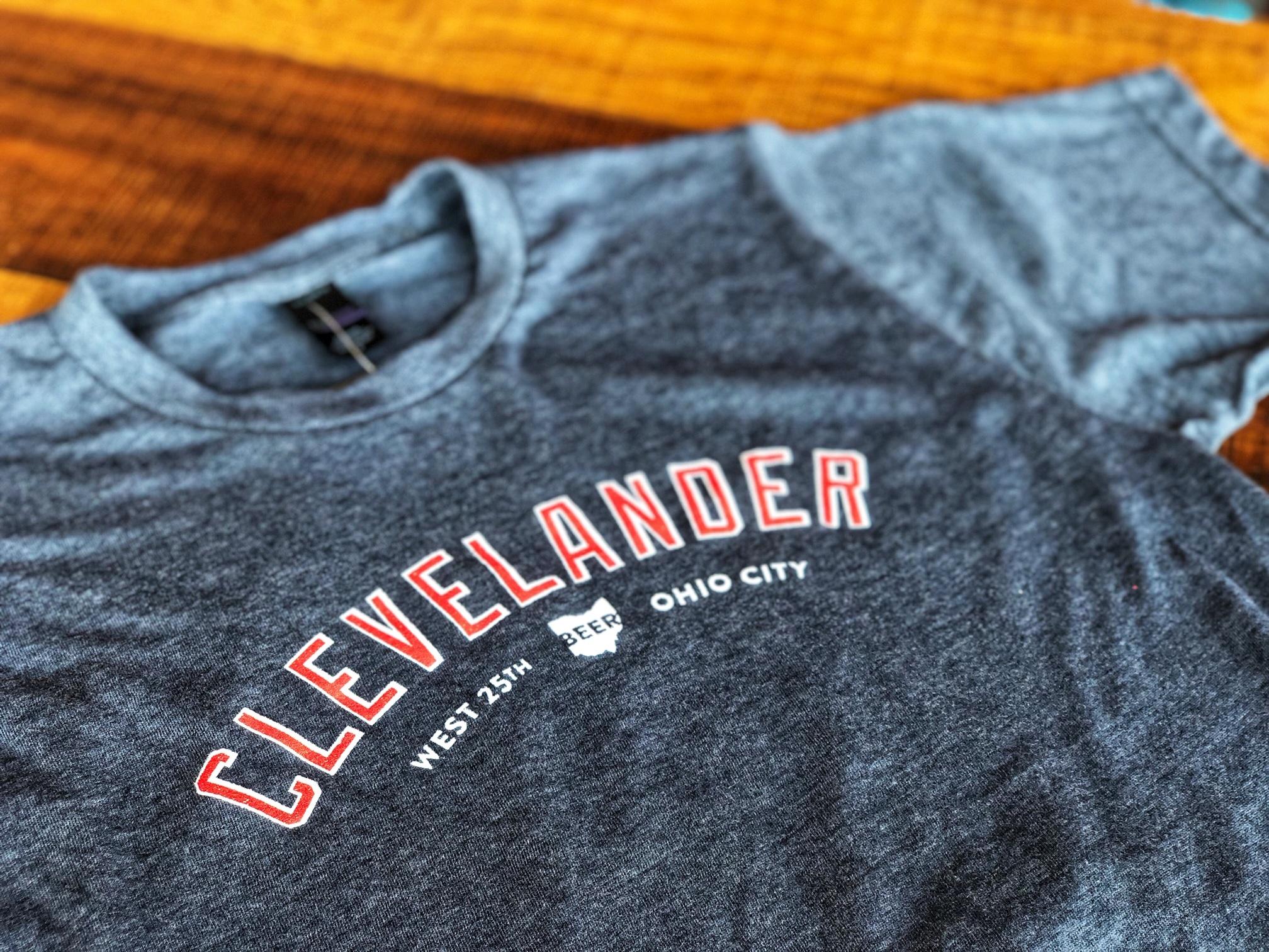 Heather Navy Clevelander T-Shirt