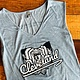 Cleveland Guardian Denim V-neck Tank (W)