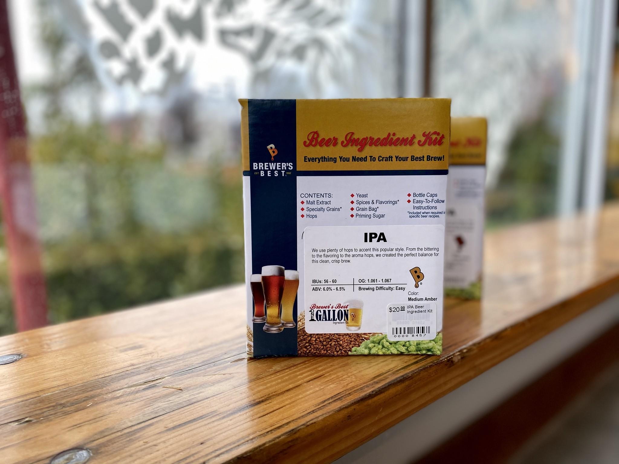 IPA Beer Ingredient Kit