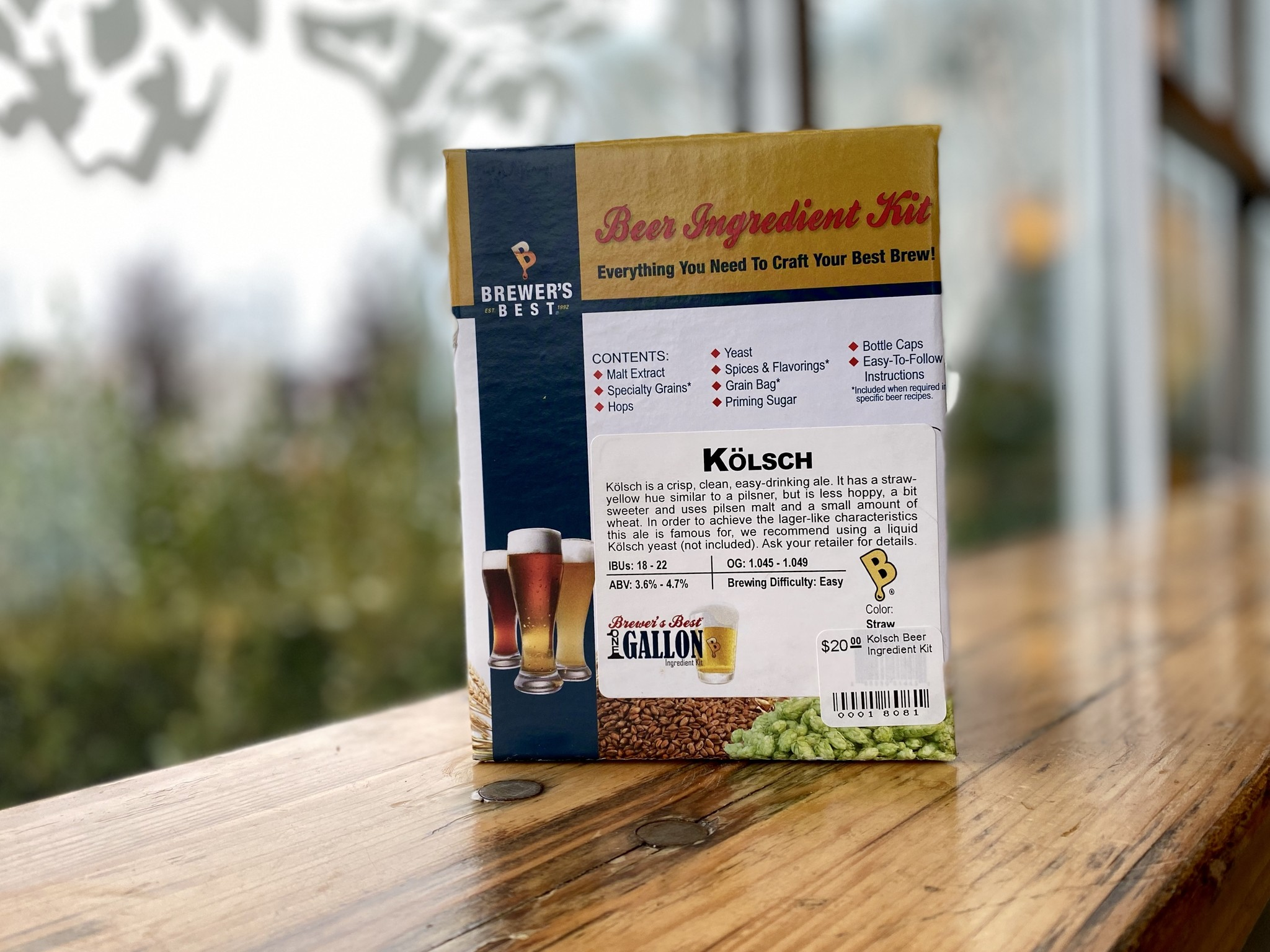 Kolsch Beer Ingredient Kit