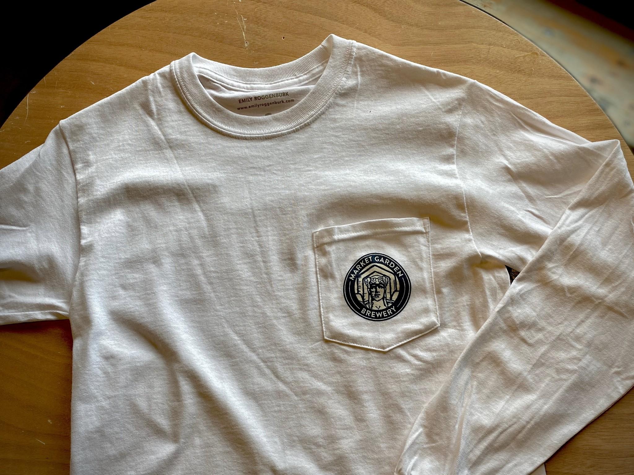 MGB Long Sleeve Pocket T-Shirt (by emilyroggenburk)