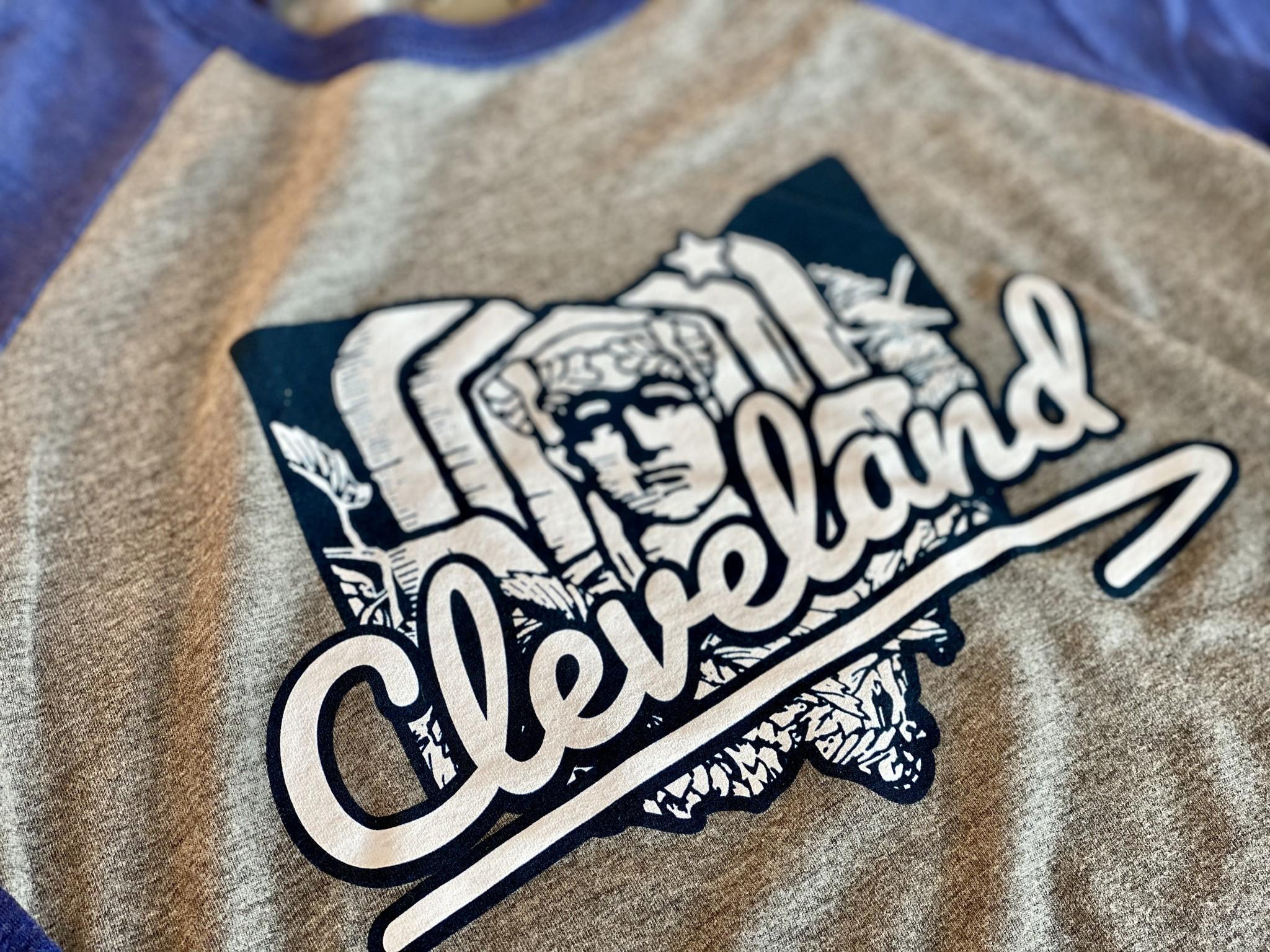Cleveland Guardian Raglan