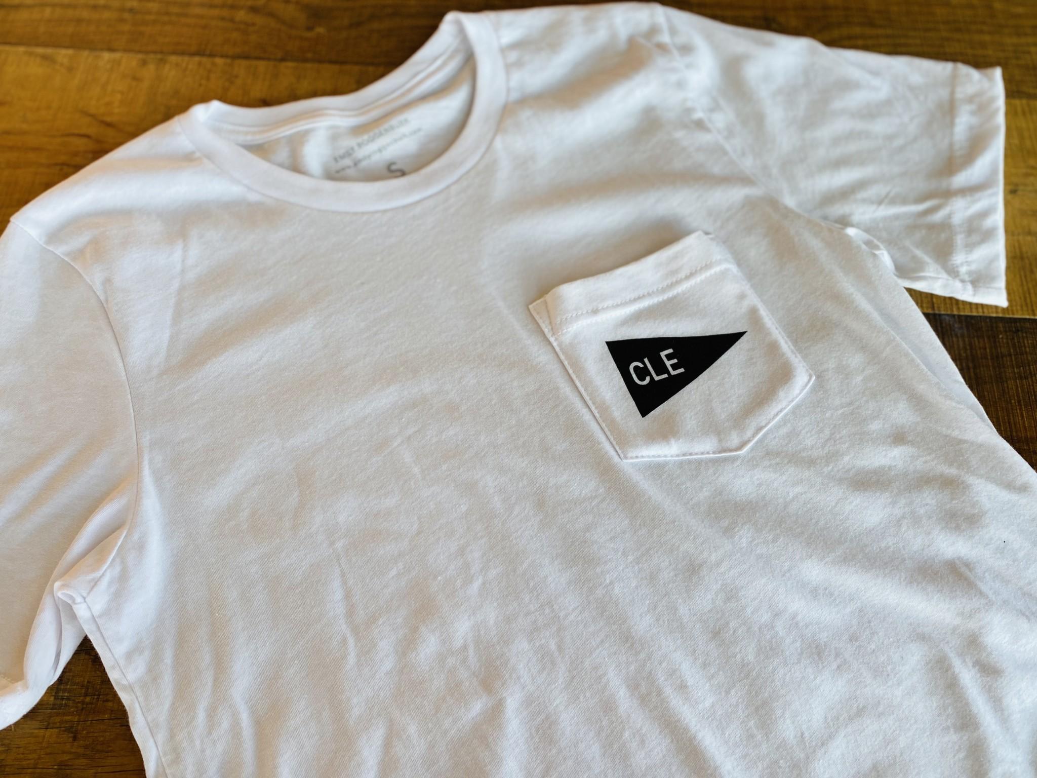 CLE Pennant T-Shirt (by emilyroggenburk)