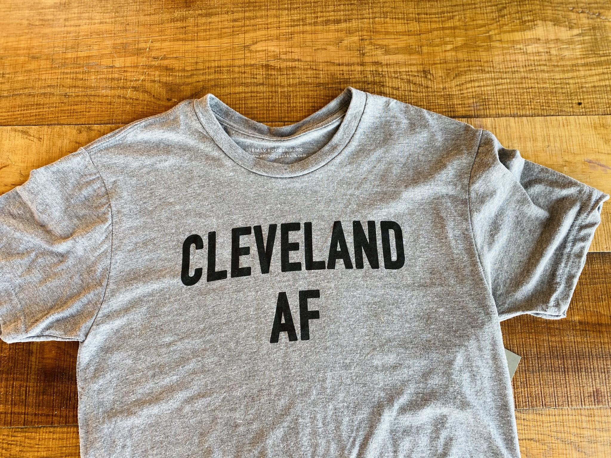 Cleveland AF T-Shirt (by emilyroggenburk)