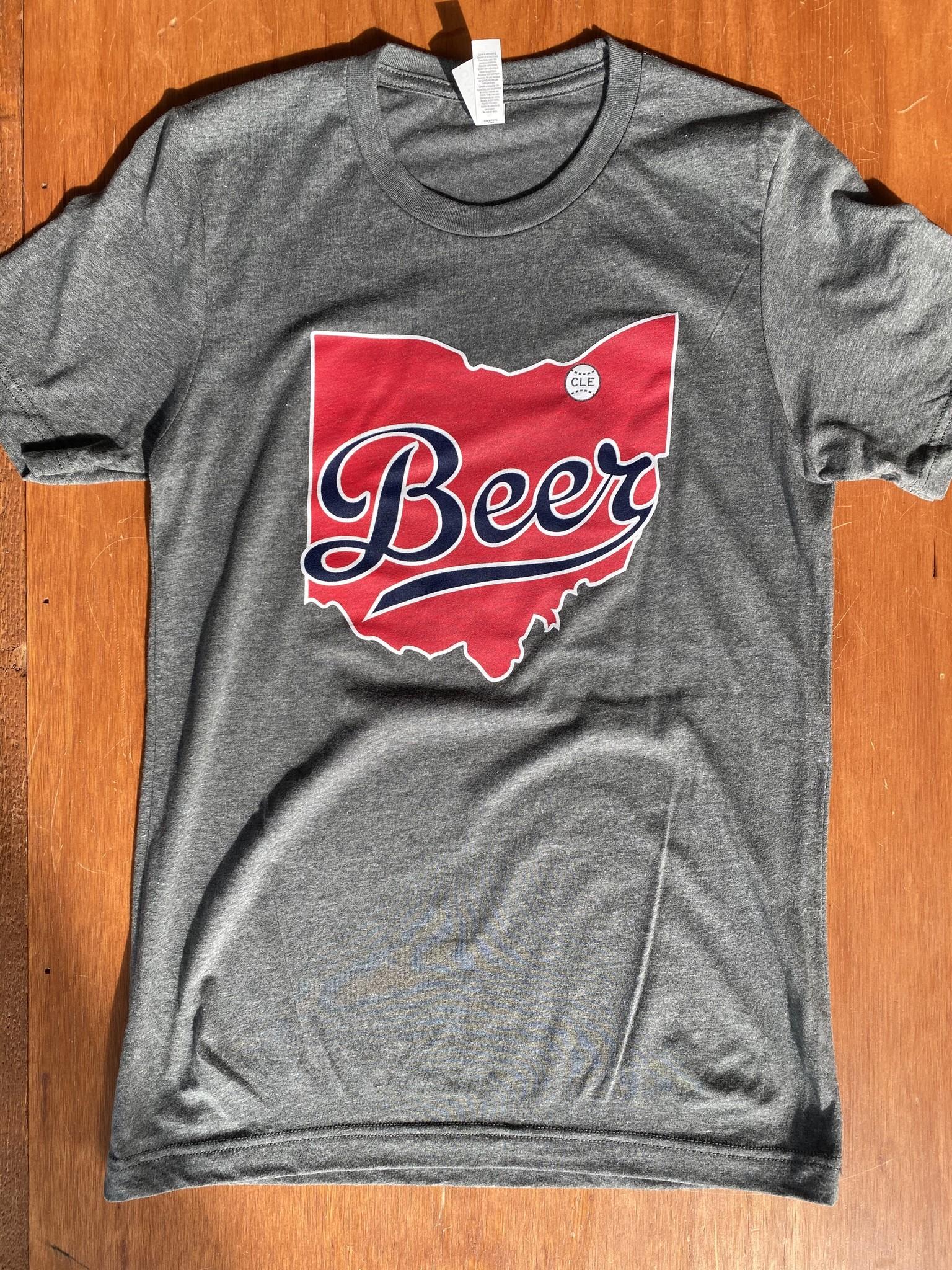 Indians Grey Beerhio T-shirt