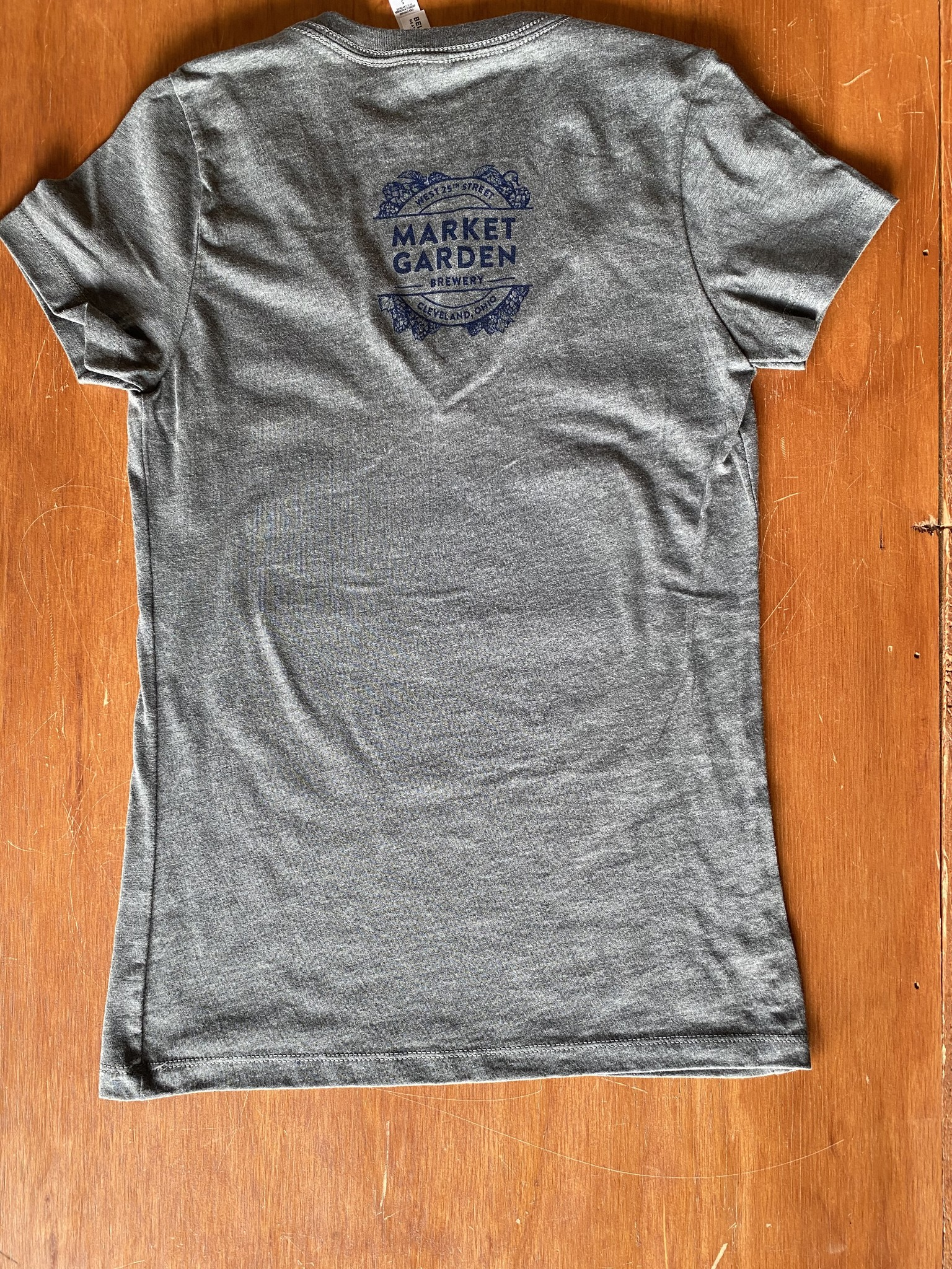 Indians Grey Beerhio V-Neck (W)