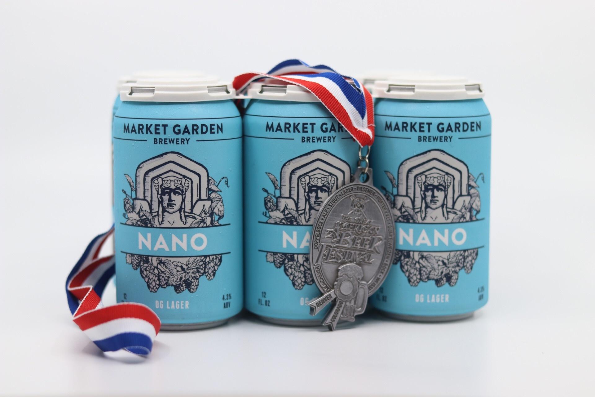 Nano OG Lager 6-Pack (cans)