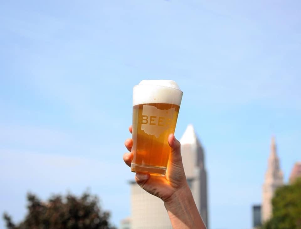 Beerhio 16 oz. Pint Glass