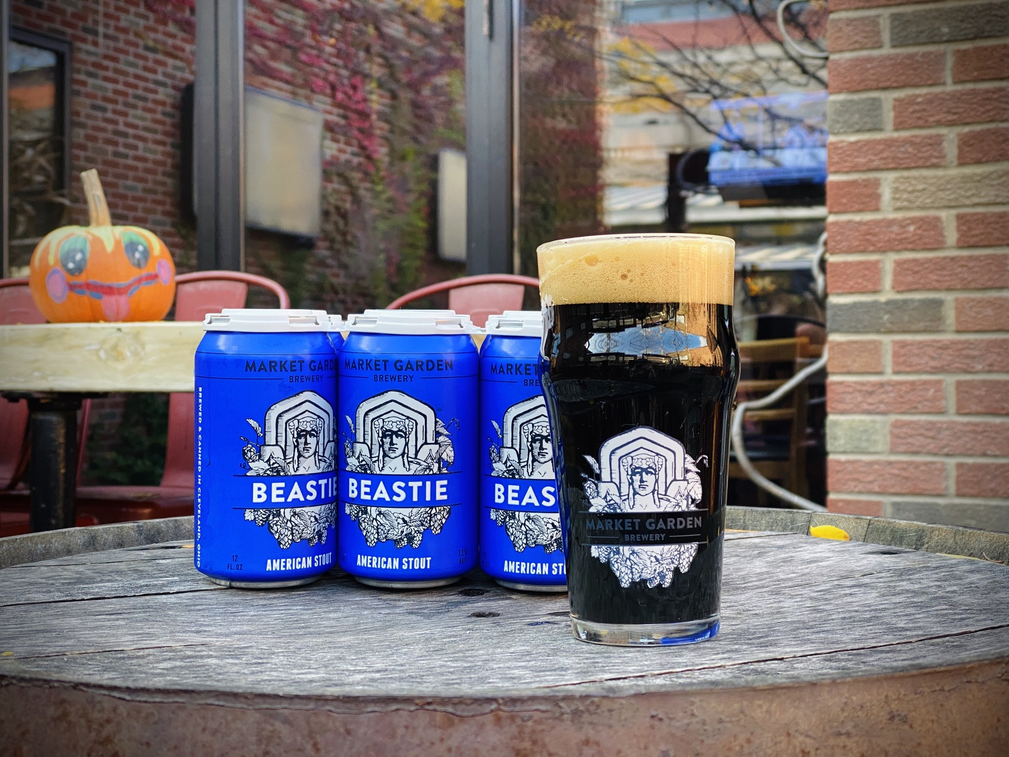 Beastie American Stout 6 Pack (cans)