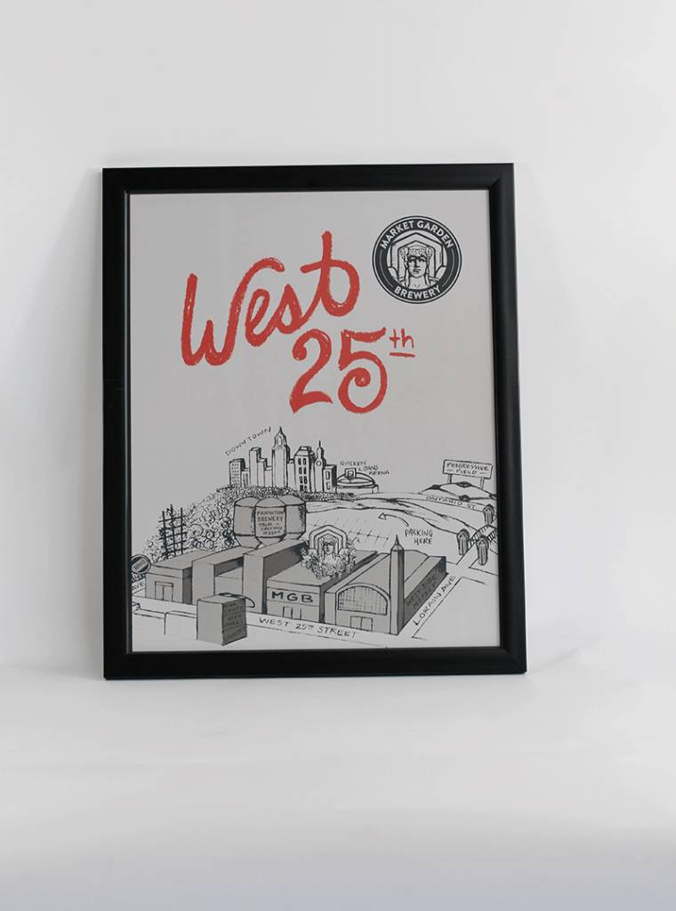West 25th Art Print