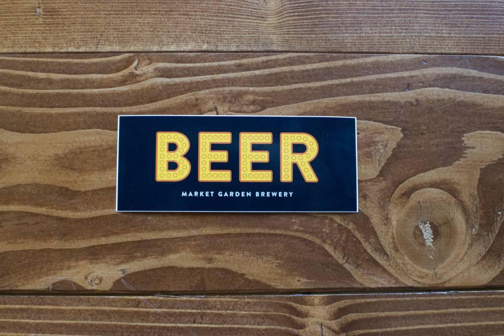 Sticker - Beer Sign