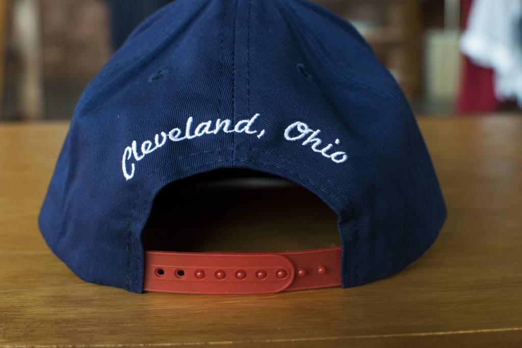 Indians MGB Flat Bill Hat