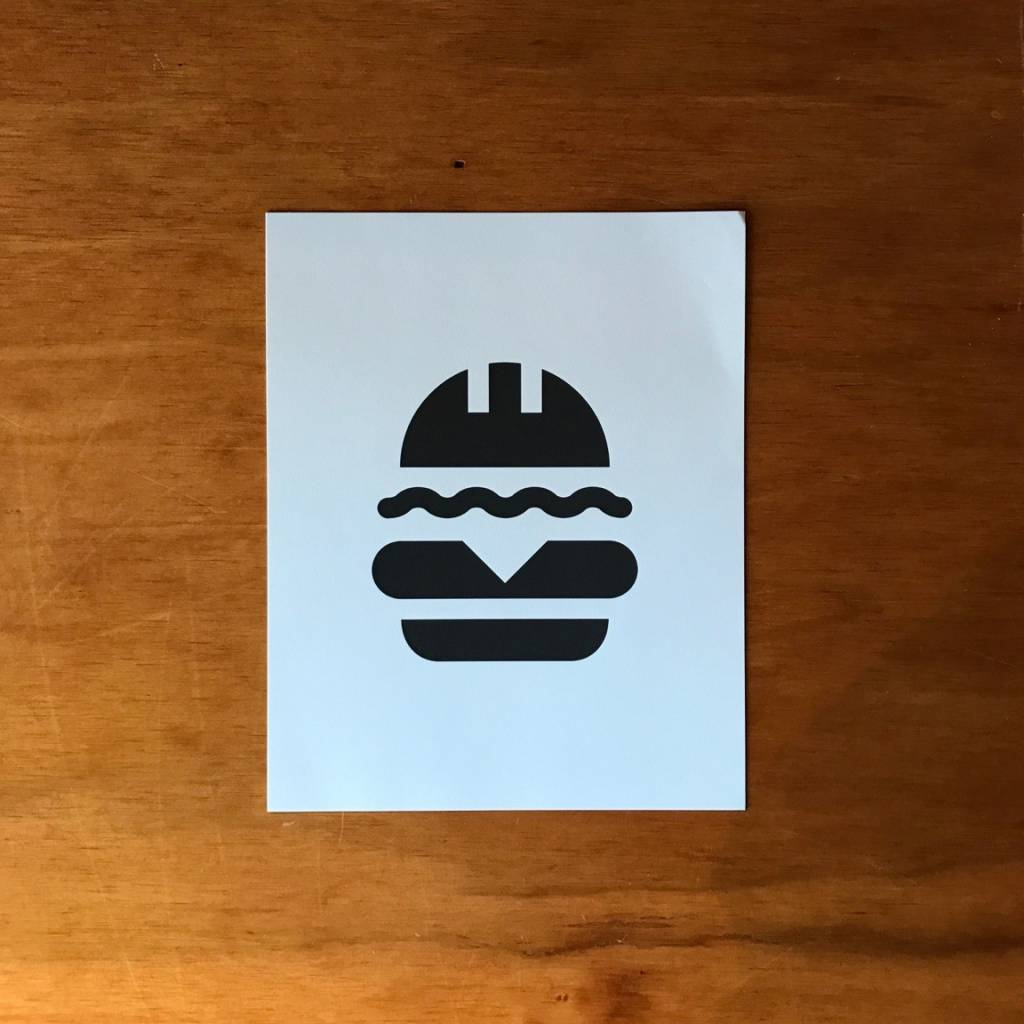 Nano Burger Print