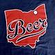 Navy Indians Beerhio T-shirt