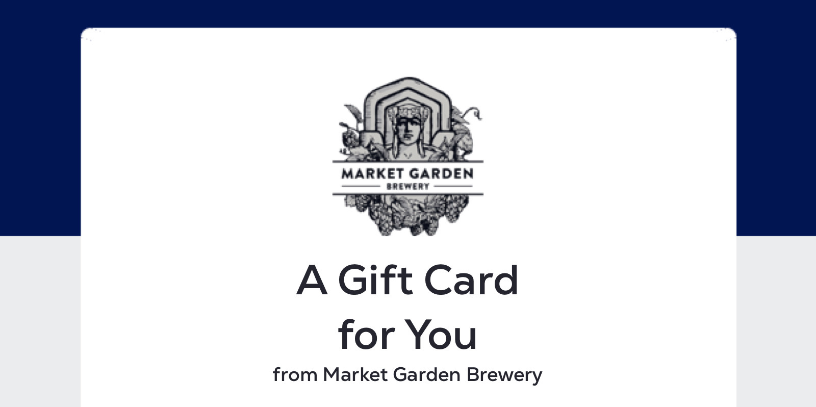 Digital Giftcard for MGB Brewpub (gift card will be emailed)