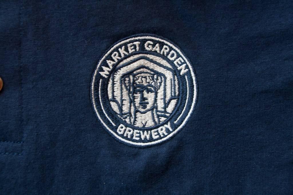 MGB Circle Badge Polo, Navy