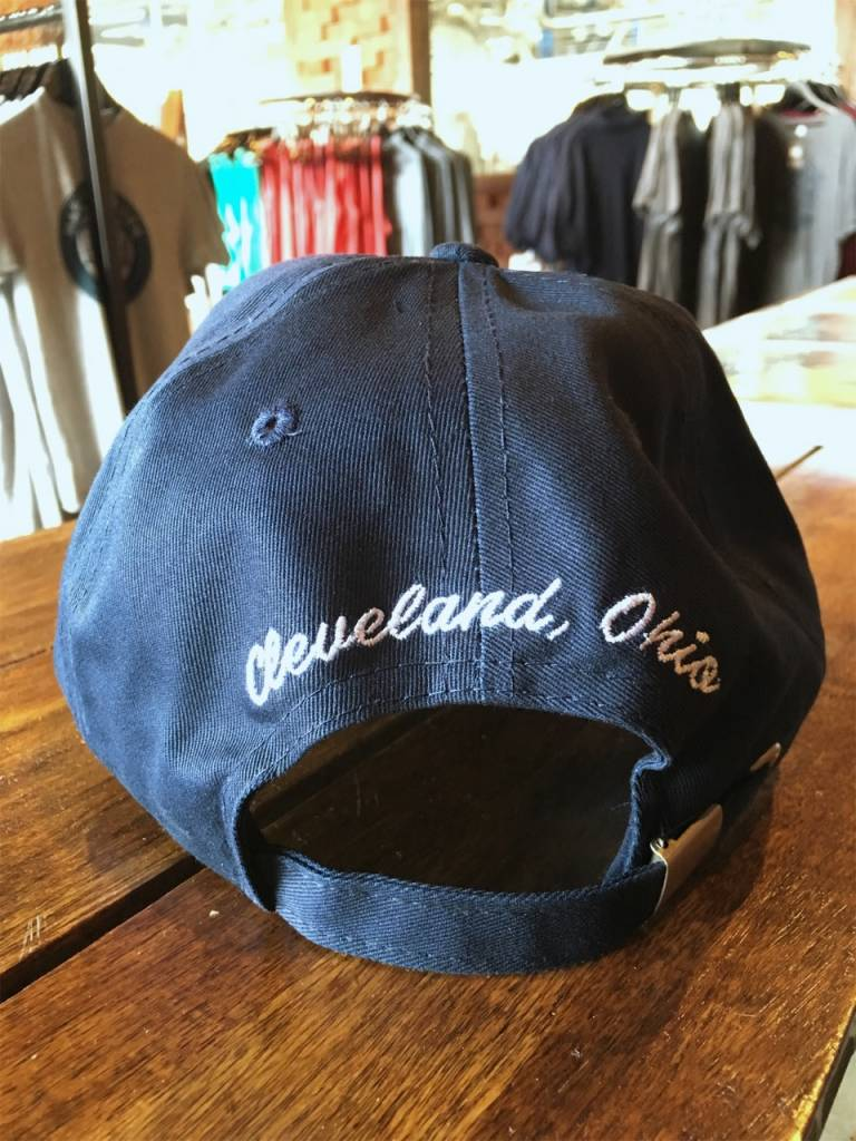 Navy MGB Canvas Hat