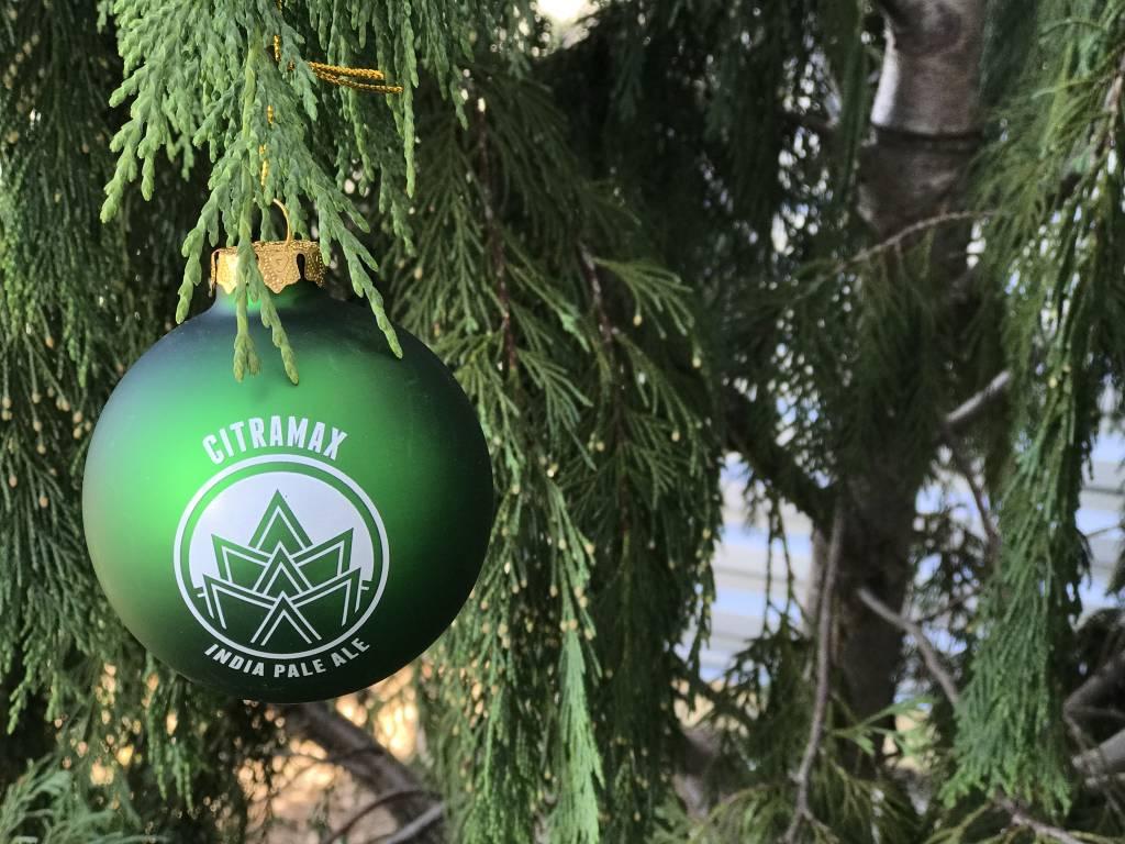 Green CitraMax Ornament