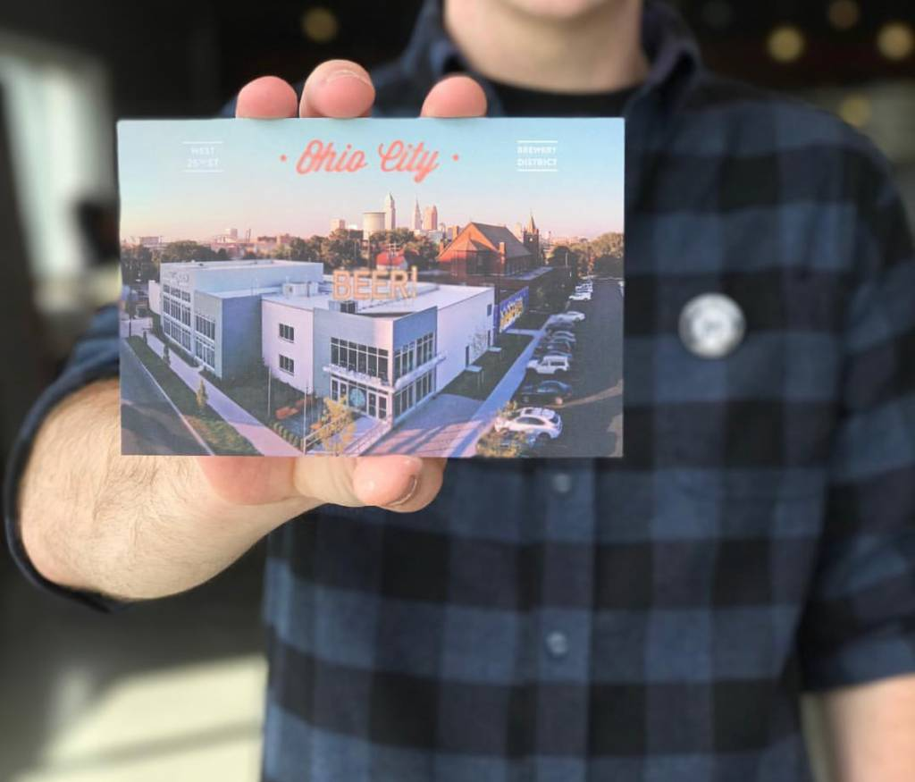 Ohio City Postcard