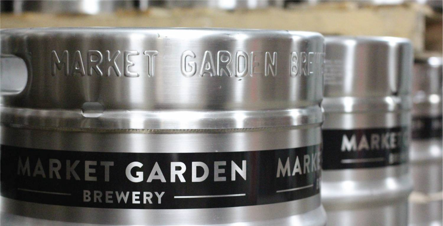 Kegs for sale in MGB Store & Tours shop!