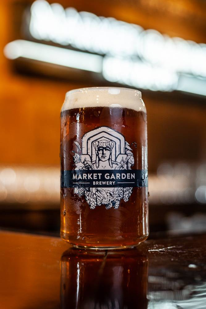 Guardian Beer Can Glass
