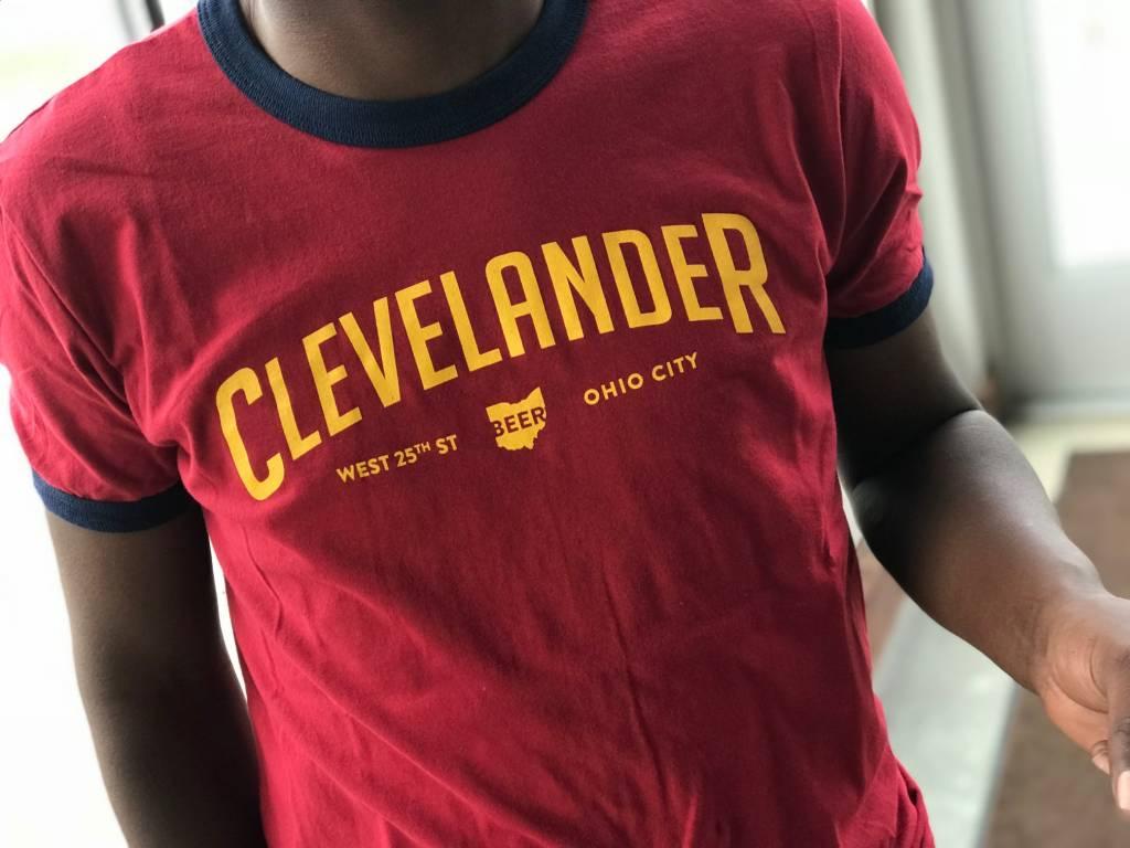 Cavs Clevelander Ringer T-Shirt