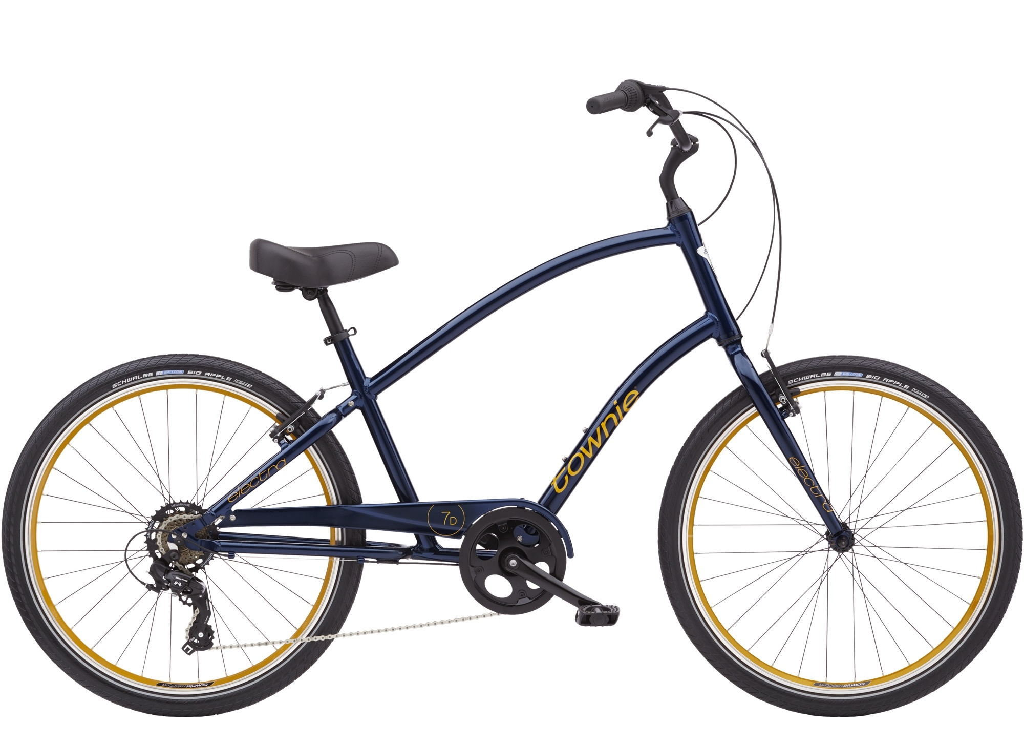 Townie 7D Step Over 26 Oxford Blue